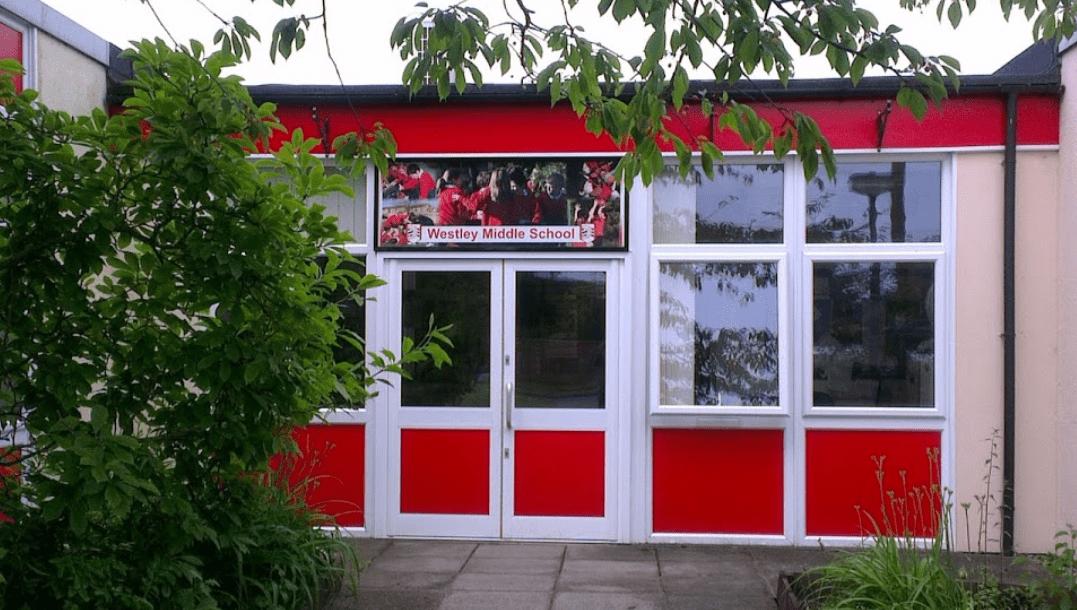 Westley school a more welcoming entrance